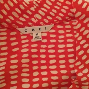 CAbi Tops - Cabi Printed Madeleine Top